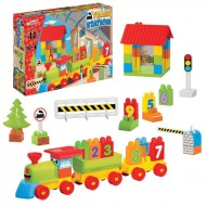 Dede Train Station Playset