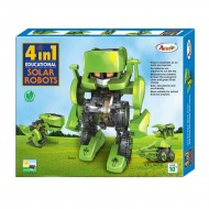 Annie 4 In 1 Solar Robots