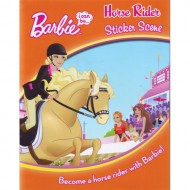 Parragon Barbie I Can Be ...Horse Rider Sticker Scene