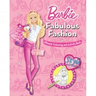 Parragon Barbie Fabulous Fashion Ultimate Colouring And Activity Book