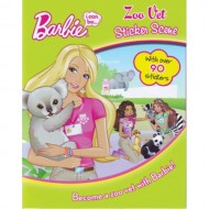 Parragon Barbie I Can Be Zoo Vet Sticker Scene