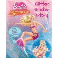 Parragon Barbie In A Mermaid Tale Glitter Sticker Story