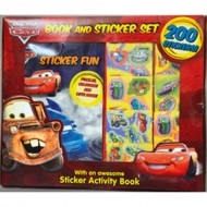 Parragon Disney Cars 200 Sticker Book Box