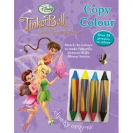 Parragon Disney Fairies Story Copy And Colour Poster Book