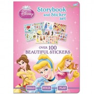 Parragon Disney Princess Storybook And Sticker Set