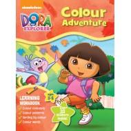 Parragon Dora Learn Wbook Colours