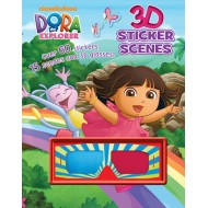 Parragon Dora The Explorer 3 D Sticker Scenes