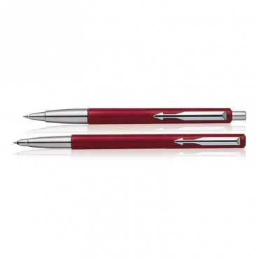 Parker Vector Standard CT(Roller Ball+Ball) Pen (Red)