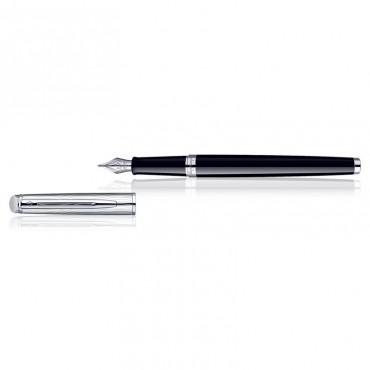 Waterman Hemisphere Dlx Black CT Fountain Pen Medium Nib