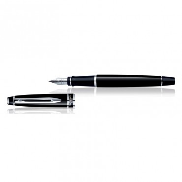 Waterman Expert Black CT Fountain Pen Medium Nib