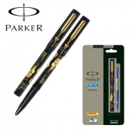 Parker Beta Spl Edition World Time Roller Ball Pen Black