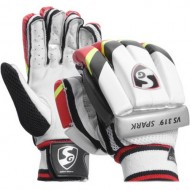 SG VS 319 Spark Cricket Batting Gloves - Boys Size