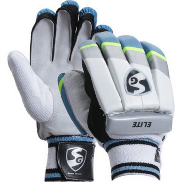 SG Elite Cricket Batting Gloves - Boys Size
