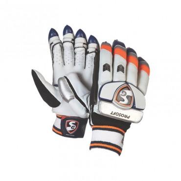SG Prosoft Cricket Batting Gloves - Boys Size