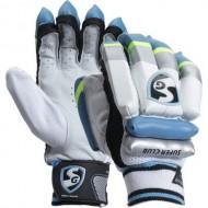 SG Super Club Cricket Batting Gloves - Boys Size