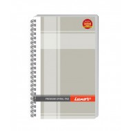 Luxor Side Spiral 33 Single Ruled Notebook(Pack of 5)