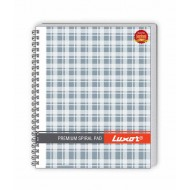 Luxor Side Sprial 44 Single Ruled Notebook