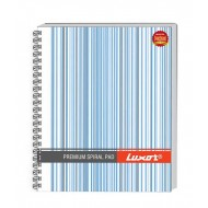 Luxor Side Sprial 44 Unruled Notebook(Pack of 5)