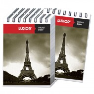 Luxor Pocket Diary Single Ruled A7 Notebook