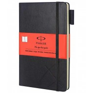 Parker Std Large Notebook Orange Sleeve