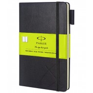 Parker Std Large Notebook Green Sleeve
