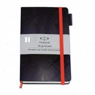 Parker Std Large Notebook Silver Sleeve