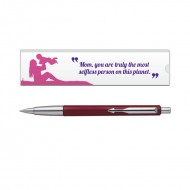 Parker Vector Std CT Ball PenRed with Mom Quote 3