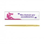 Parker Classic Gold GT Ball Pen with Mom Quote 4
