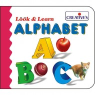 Creative's Look Learn Board Book Alphabet
