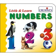 Creative's Look Learn Board Book Number