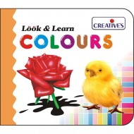 Creative's Look Learn Board Book Colours