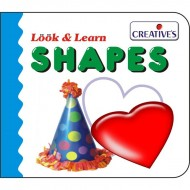 Creative's Look Learn Board Book Shapes