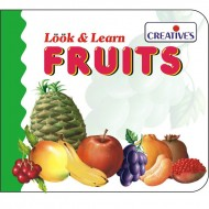Creative's Look Learn Board Book Fruits