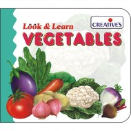 Creative's Look Learn Board Book Vegetables