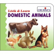 Creative's Look Learn Board Book Domestic Animals