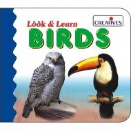 Creative's Look Learn Board Book Birds