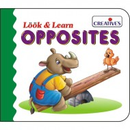 Creative's Look Learn Board Book Opposites