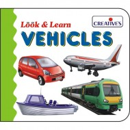 Creative's Look Learn Board Book Vehicles