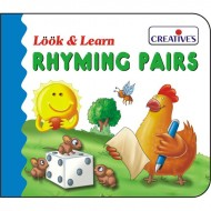 Creative's Look Learn Board Book Rhyming Pairs