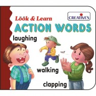 Creative's Look Learn Board Book Action Words