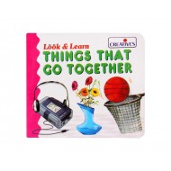 Creative's Look Learn Board Book Things That go together