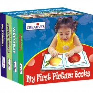 Creative's My First Picture Books A Set of 4 Board Books