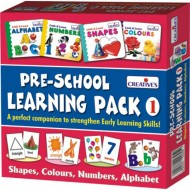 Creative's Pre School Learning Pack 1 Shapes,Colours, Numbers,Alphabet
