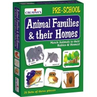 Creative's Animal Families Their Homes
