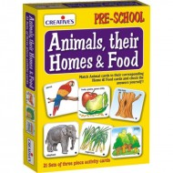 Creative's Animals, Their Homes Foods