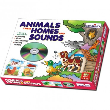 Creative's Animals,Their Homes and Sounds