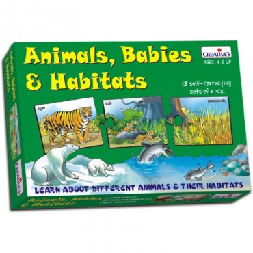 Creative's Animal Babies Habitats