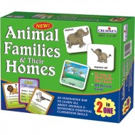 Creative's Animal Families Their Homes 2 in 1