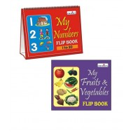 Creative's My Fruits Vegetables Flip Book New