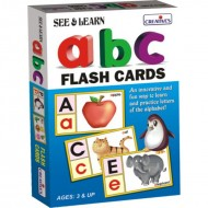 Creative's See Learn Alphabet Flash Cards